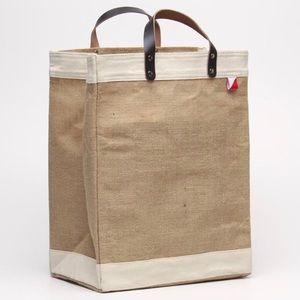 COPY - Shore bag Bazaar burlap bag (new)